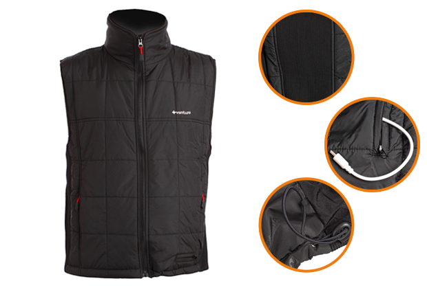 12V Heated Quilted Vest (Men)