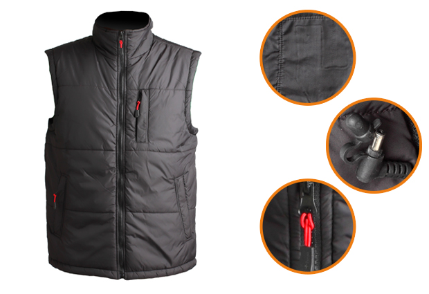 Companion Quilted Heated Vest