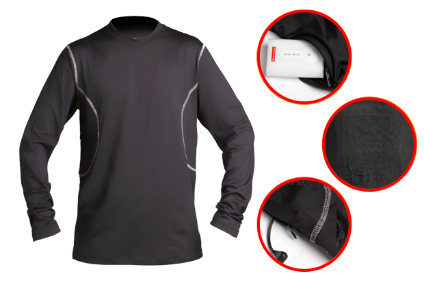 Heated base layer 5