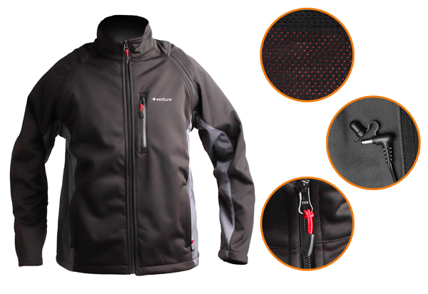 Convertible Heated Soft Shell Jacket